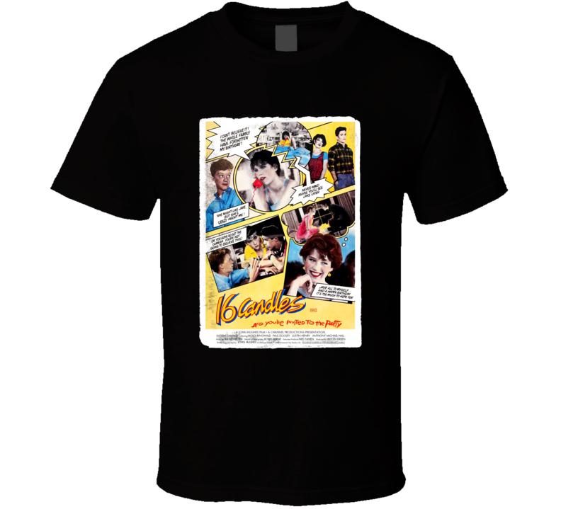Sixteen Candles Poster T Shirt