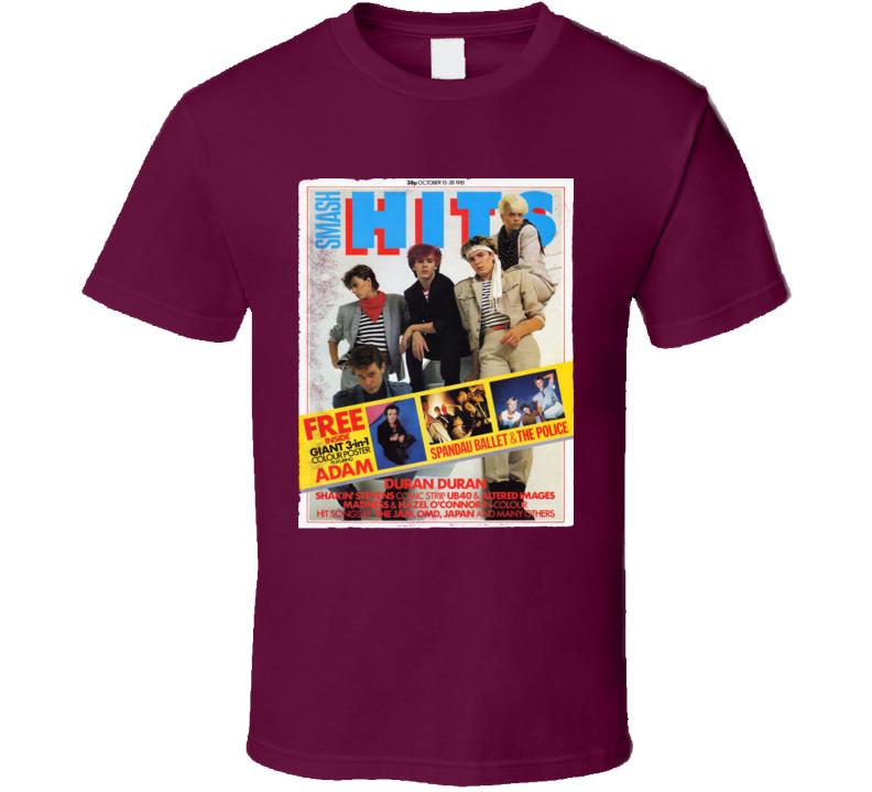 Smash Hits - Duran Duran - T Shirt