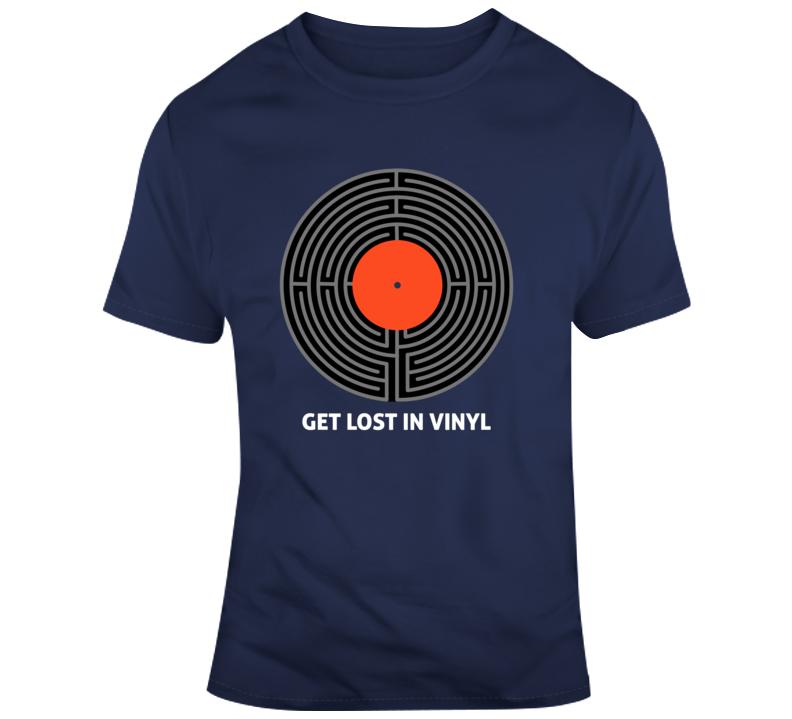 Get Lost In Vinyl - T Shirt