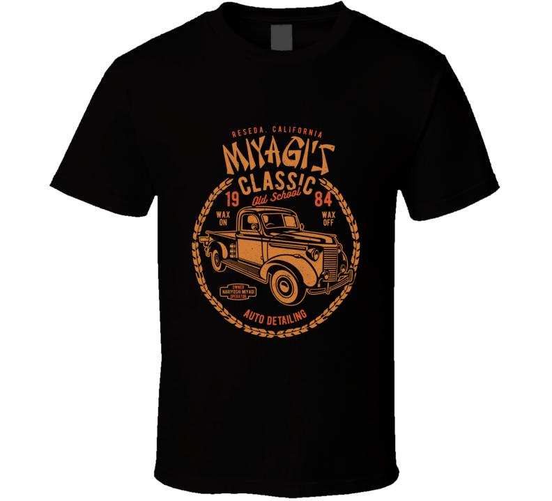 Miyagi's Auto Detailing T Shirt
