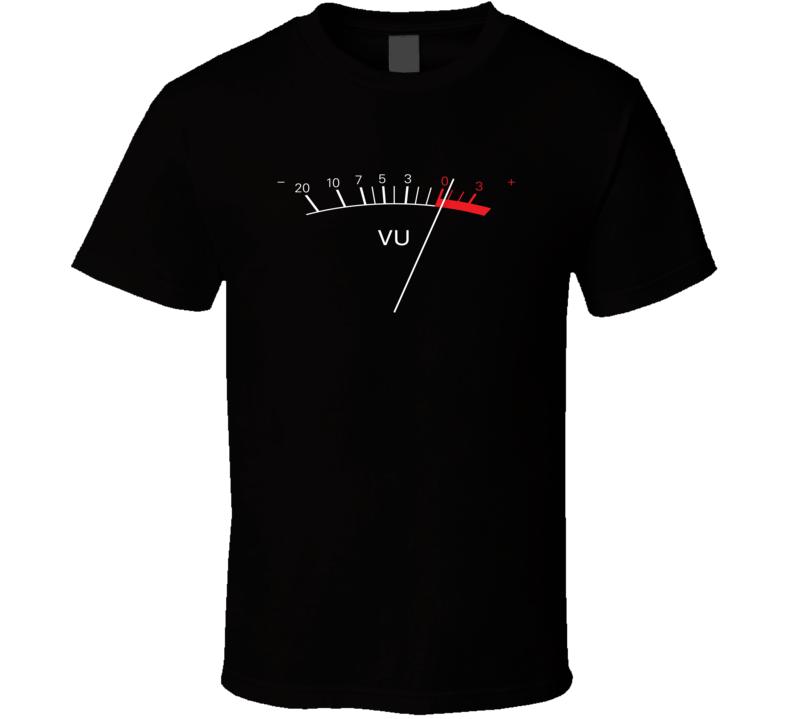Vu Meter T Shirt