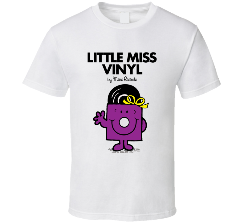Little Miss Vinyl T Shirt