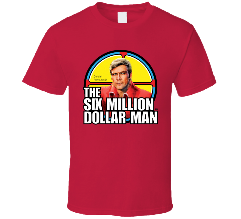 The Six Million Dollar Man Logo T Shirt