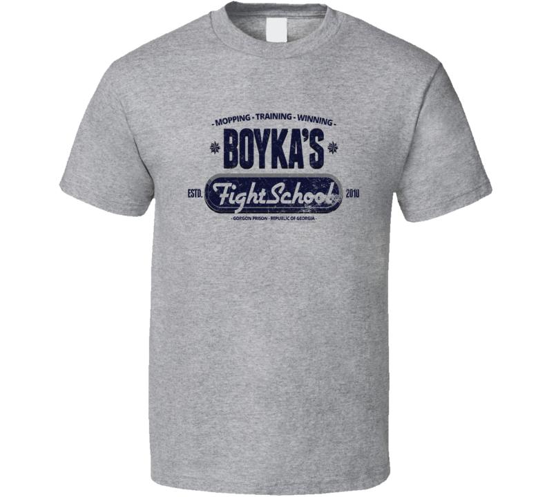 Boyka's Fight School (light) T Shirt