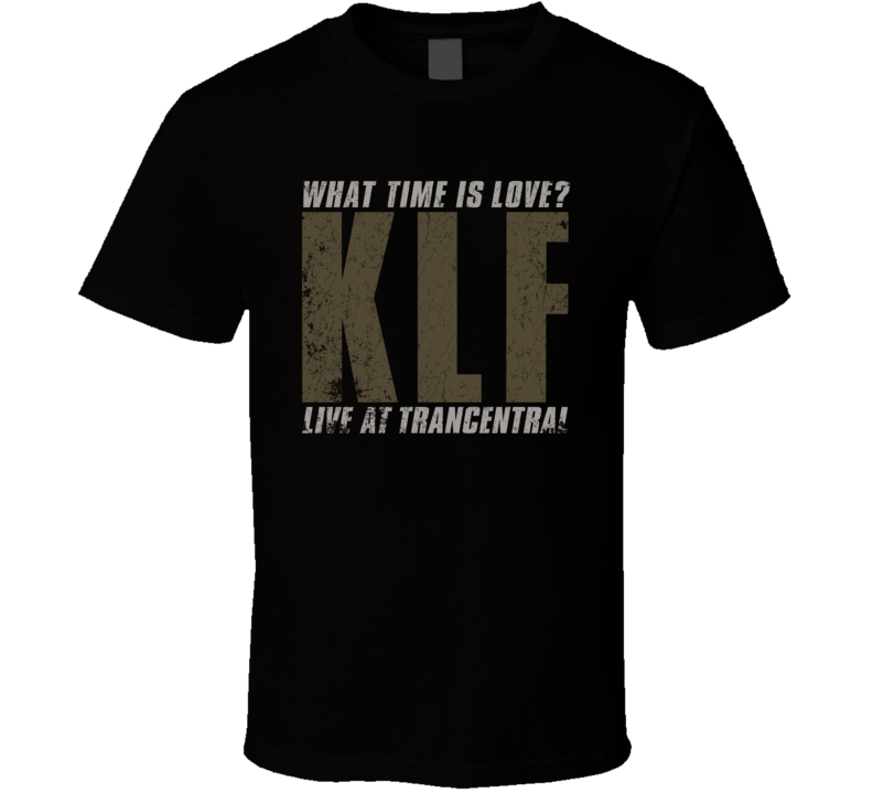 The KLF - What Time Is Love? T Shirt