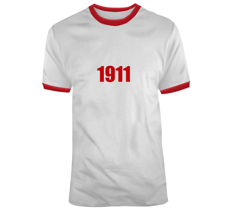 Red 1911 T Shirt