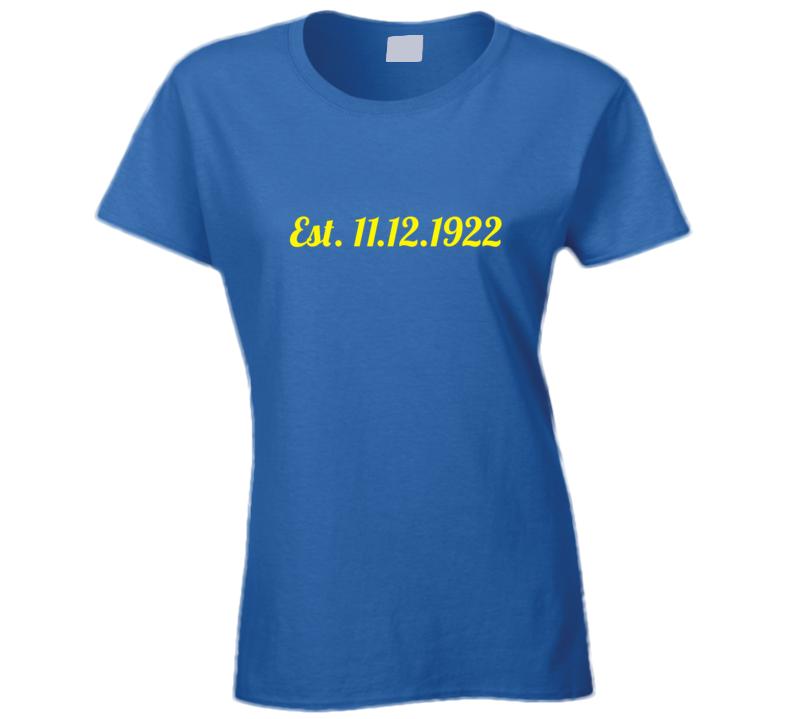 Sigma Gamma Rho 11.12.1922 T Shirt
