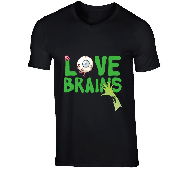 Love Brains - Halloween T Shirt
