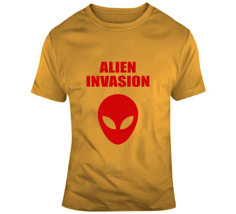 Alien Invasion - Halloween T Shirt