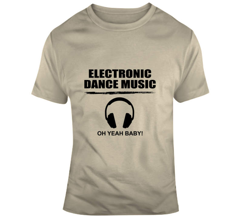 Electronic Dance Music - Headset T Shirt