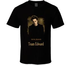 Twilight Saga New Moon Team Edward T Shirt