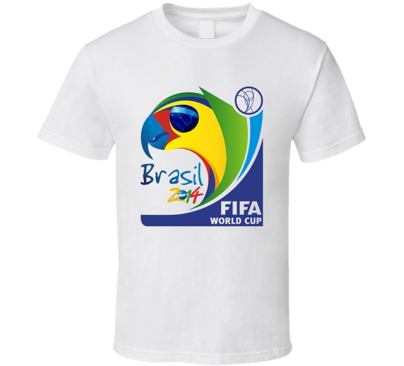 Fifa world cup 2014 soccer brazil t shirt