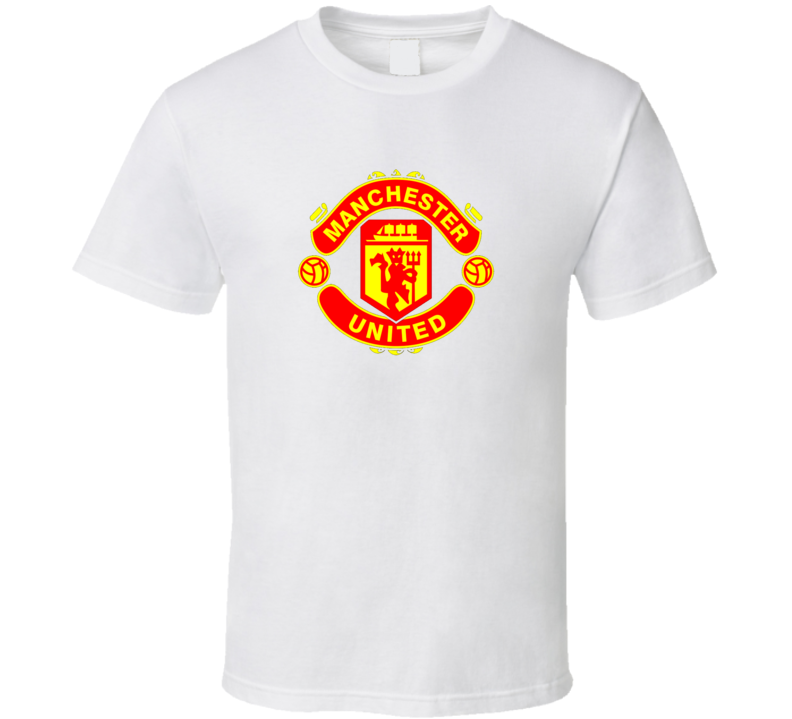 Manchester United FC football club t shirt