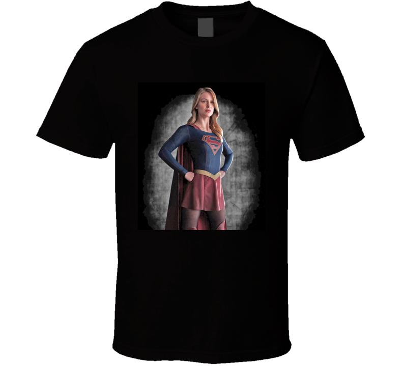 Supergirl TV Show Melissa Benoist T Shirt