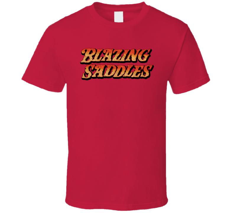 Blazing Saddles Movies Western T Shirt