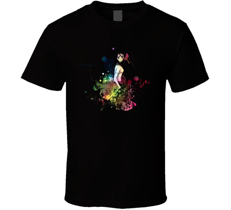 Rukia Bleach Anime Manga T Shirt