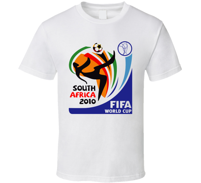 2010 World Cup Fifa South Africa Soccer T Shirt