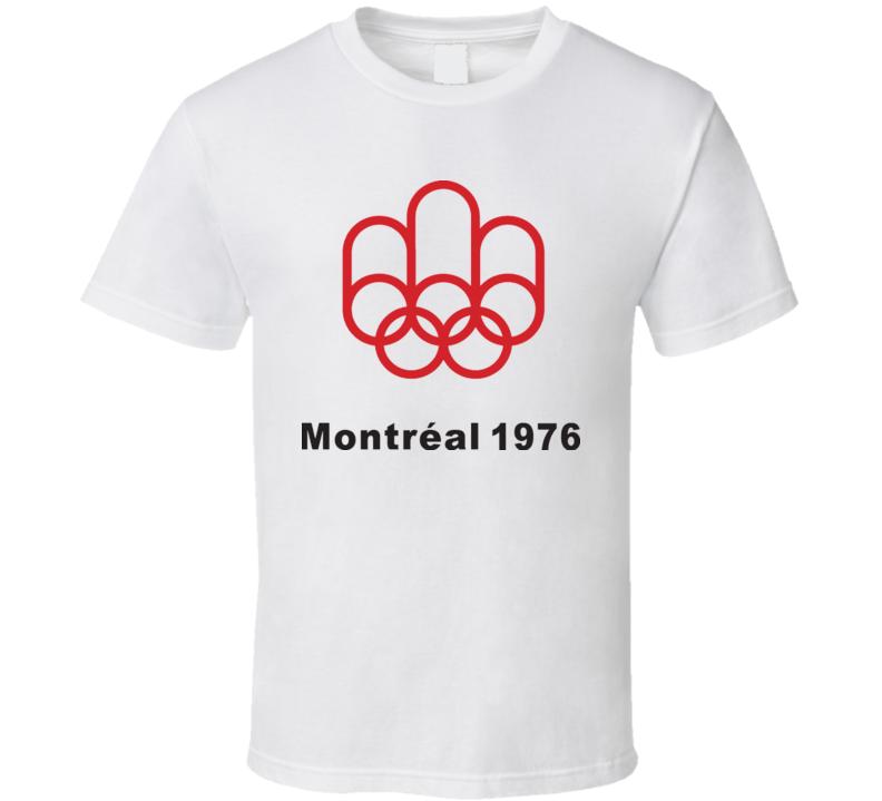 Montreal 1976 Summer Olympics T Shirt
