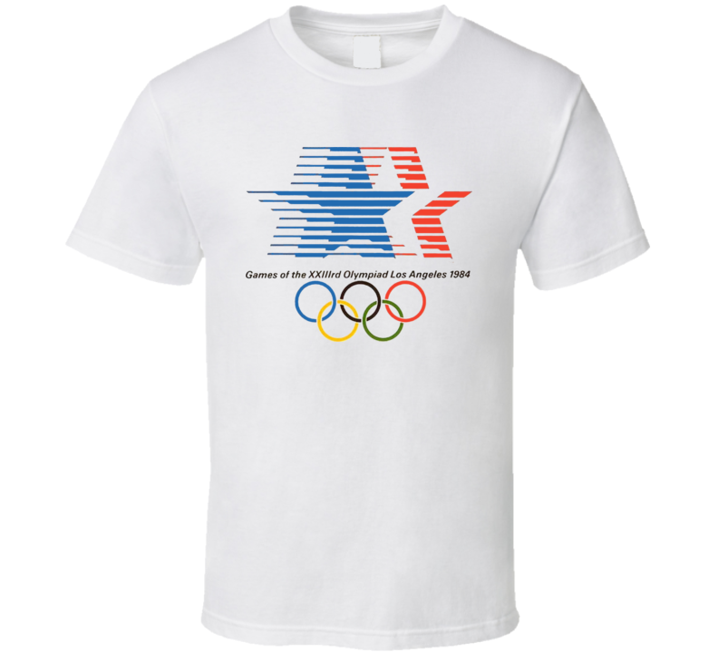 Los Angeles 1984 Summer Olympics T Shirt