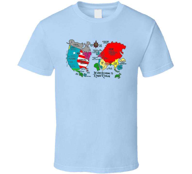 Ronald Regan Communist T Shirt