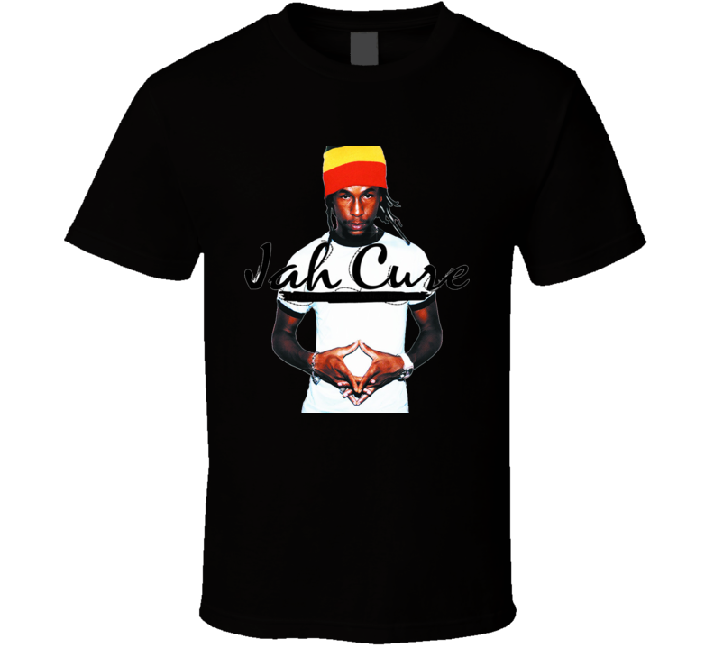 Jah Cure Reggae Music Dance Hall T Shirt