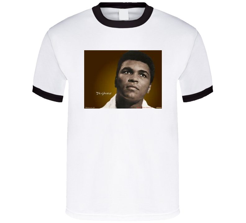 Muhammad Ali Cassius Clay The Greatest T Shirt