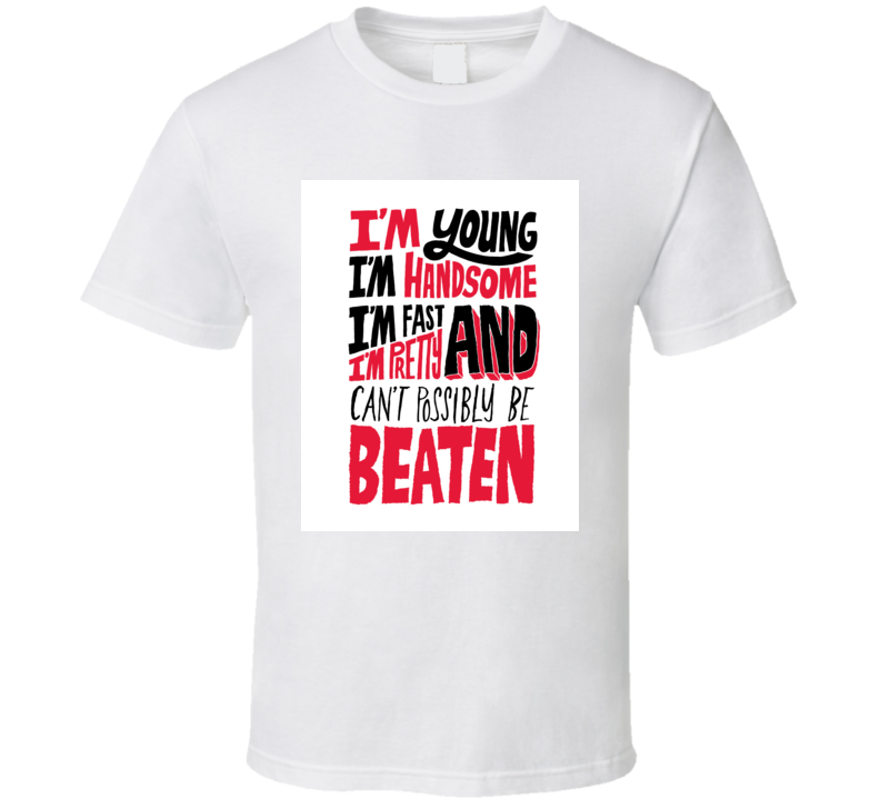 Muhammad Ali Quote Boxing Greatest T Shirt