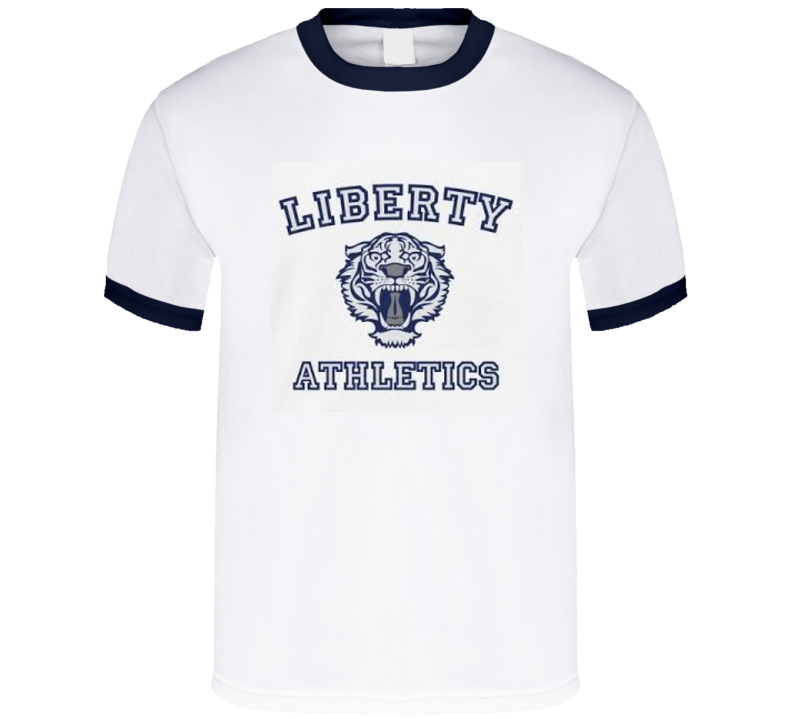 13 Reasons Why Netflix Liberty Tigers Athletics T Shirt