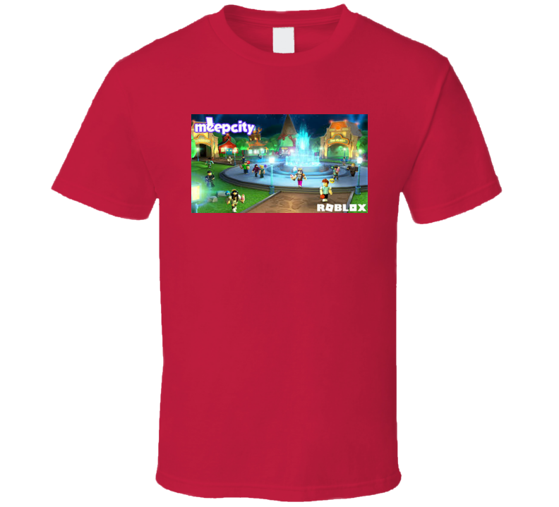 Meep City Roblox Noob Video Game T Shirt