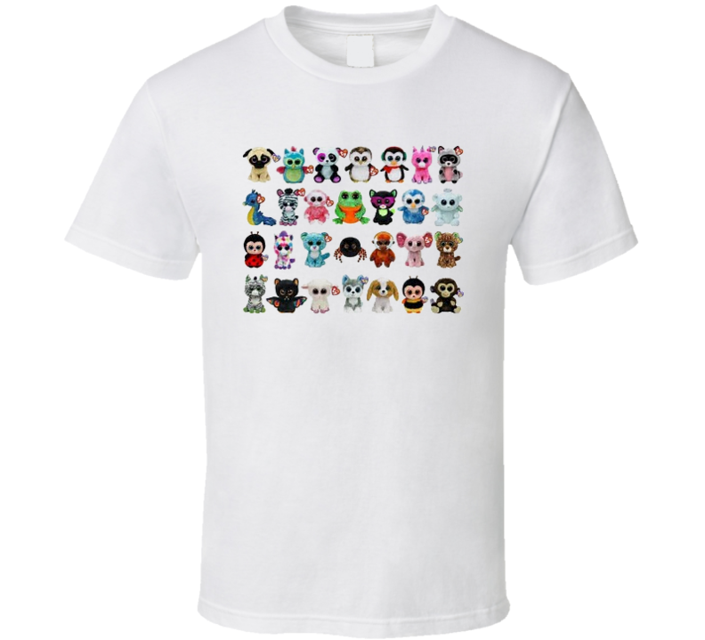 Beanie Boo Collection T Shirt