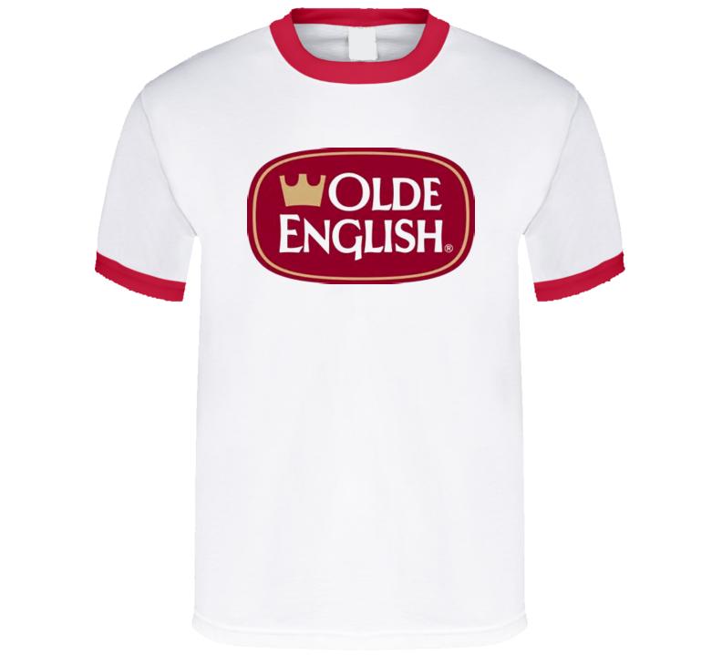 Olde English 800 Malt Liquor Beer Retro T Shirt