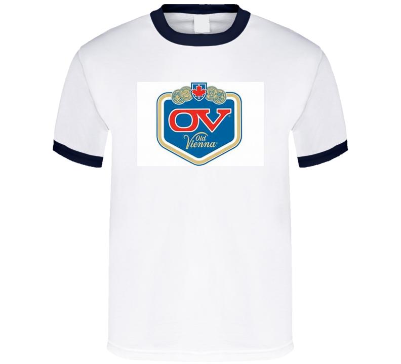 OV Old Vienna Beer Retro T Shirt