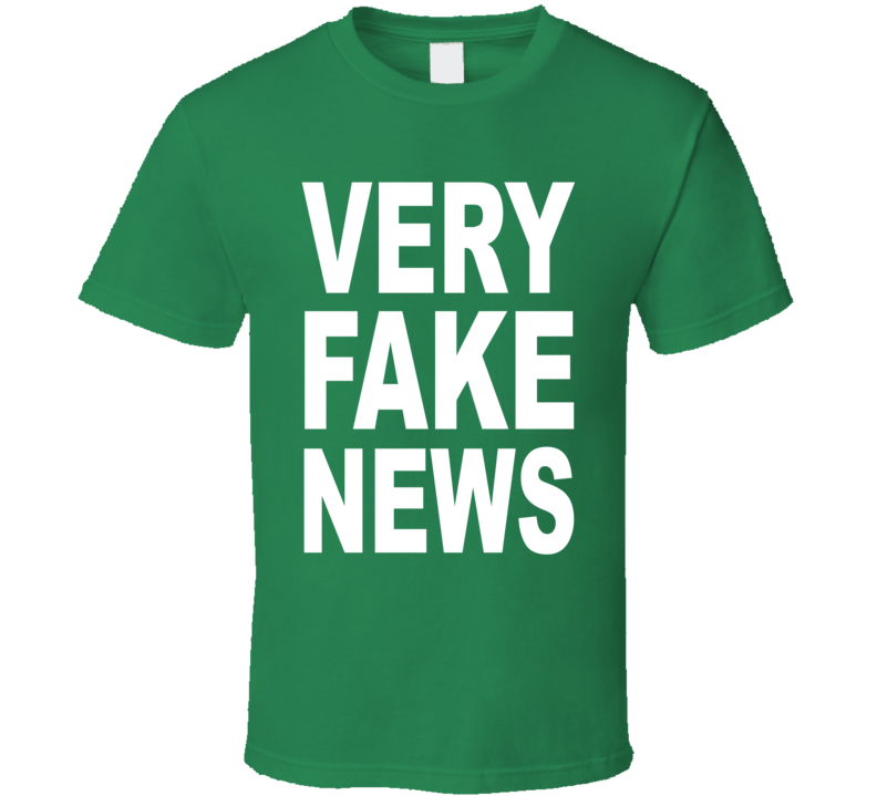 Very Fake News Donald Trump JR US President Funny T Shirt