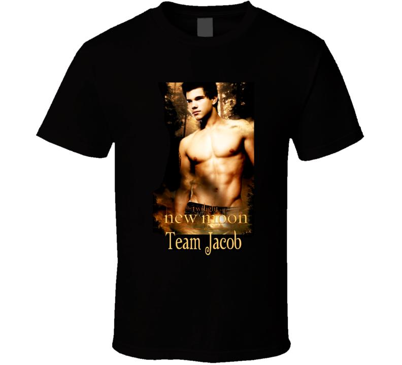 Twilight Saga New Moon Team Jacob T Shirt