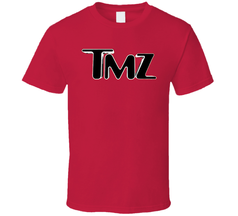 Tmz Tv Show Red T Shirt