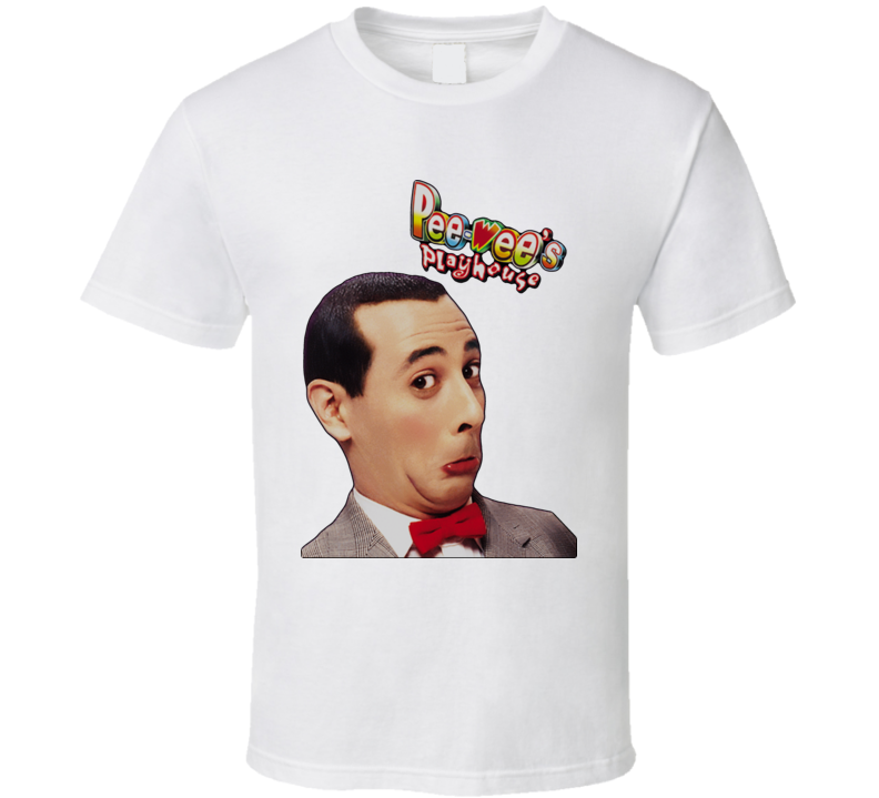 Pee-Wees Playhouse Tv Show T Shirt