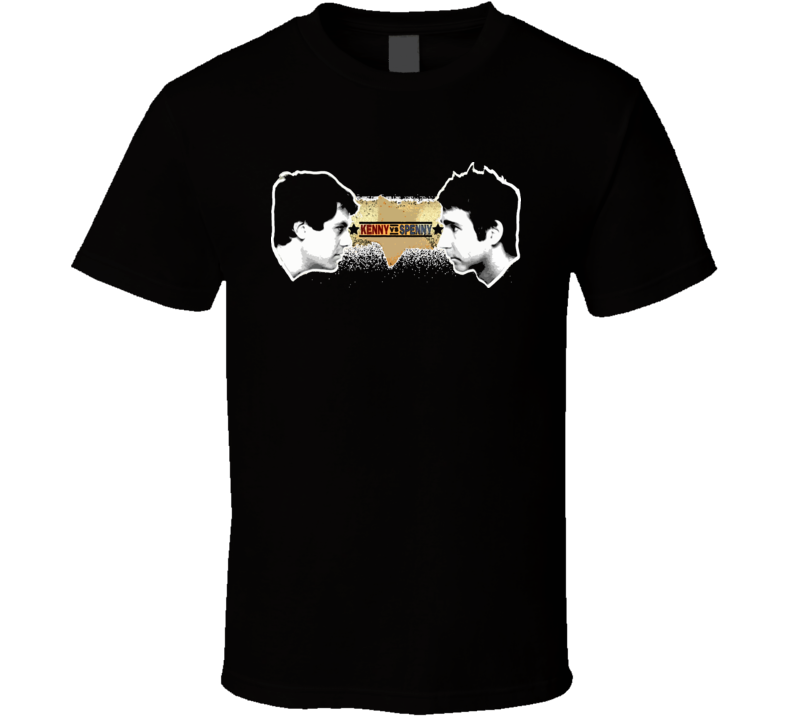 Kenny Vs Spenny Funny Tv Show Black T Shirt