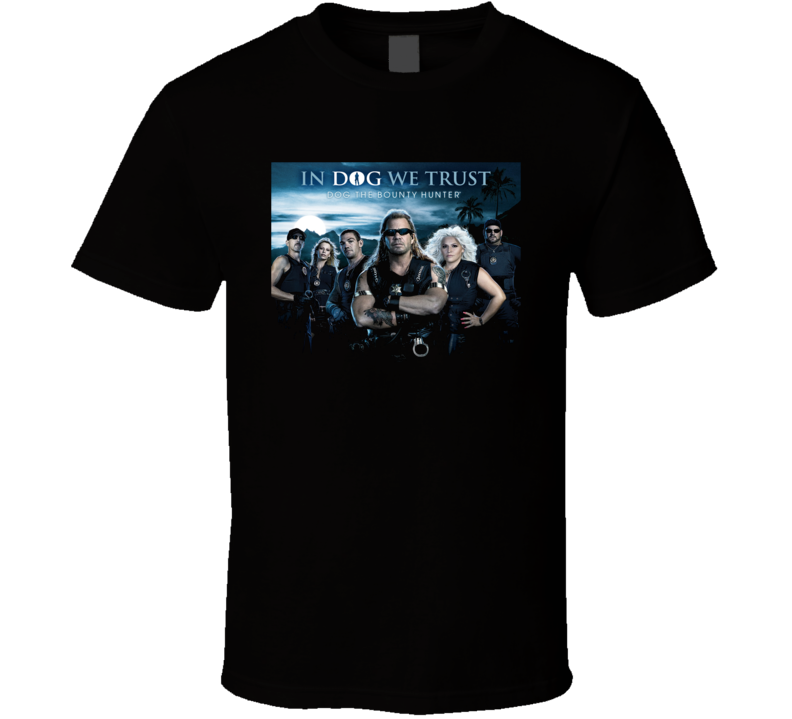Dog The Bounty Hunter Tv Show Black T Shirt