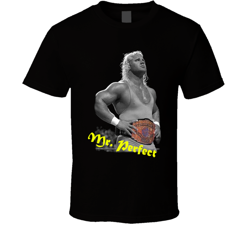 Mr Perfect Curt Hennig Wrestling Legend T Shirt