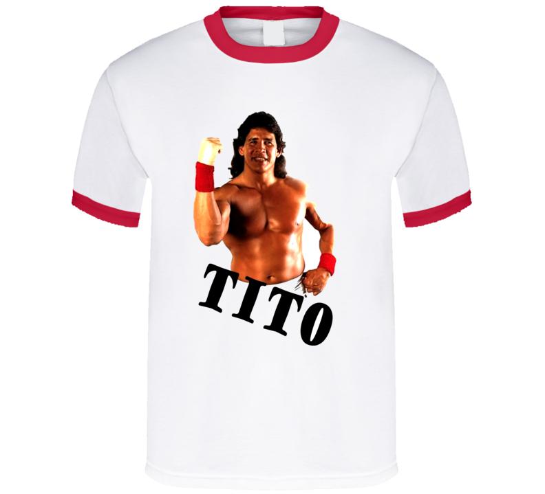 Tito Santana Wrestling Legend T Shirt