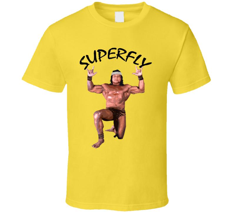 Jimmy Superfly Snuka Wrestling Legend T Shirt