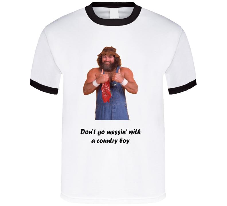 Hillbilly Jim Wrestling Legend T Shirt