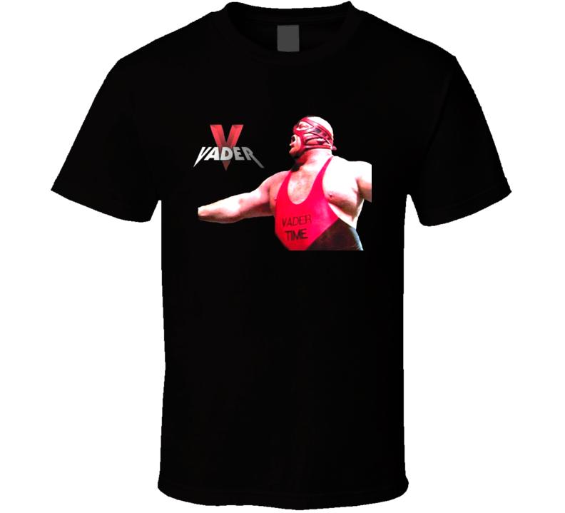 Big Van Vader Wrestling Legend T Shirt
