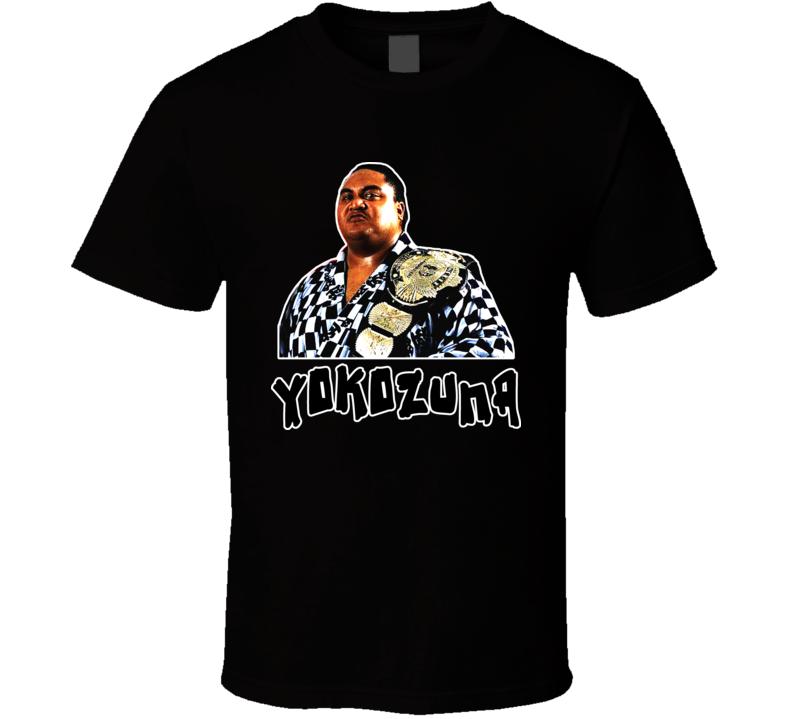 Yokozuna Wrestling Legend T Shirt