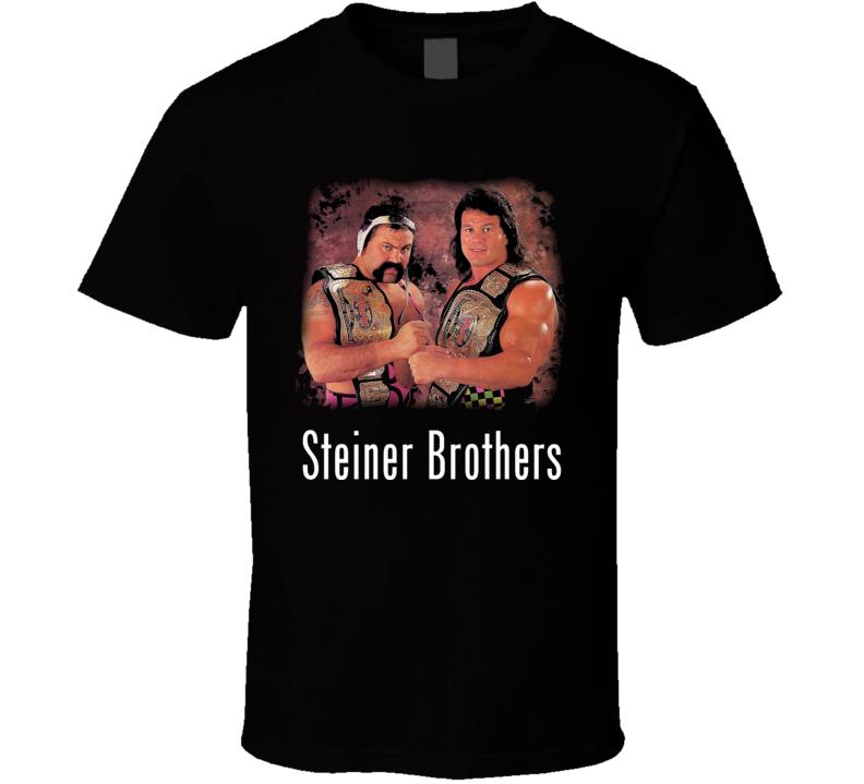 Steiner Brothers Rick Scott Big Poppa Pump Wrestling Legend T Shirt
