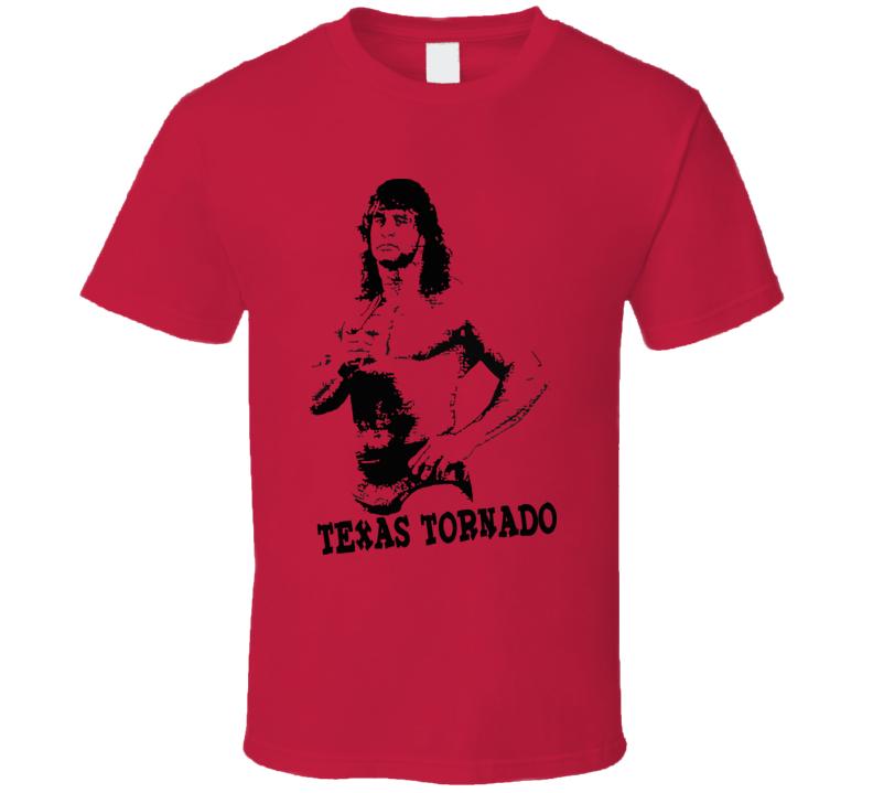 Kerry Von Erich Texas Tornado Wrestling Legend T Shirt