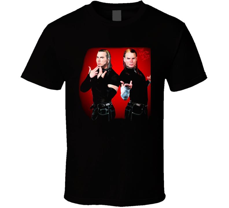 HARDY BOYZ Jeff & Matt Wrestling Legend T Shirt