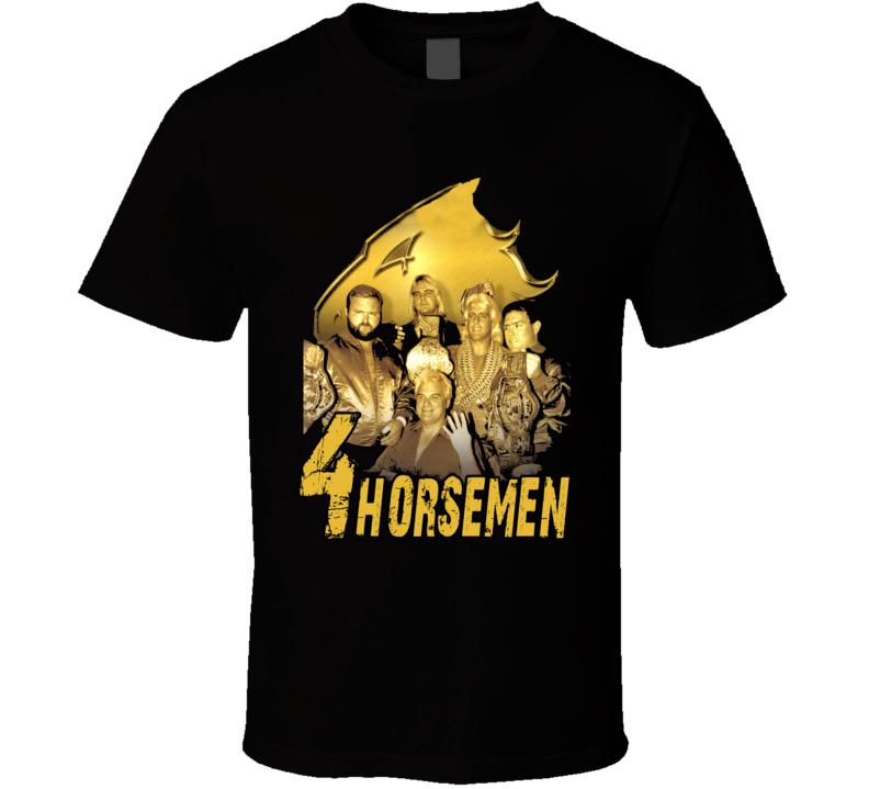 Four Horsemen Ric Flair Wrestling Legend T Shirt