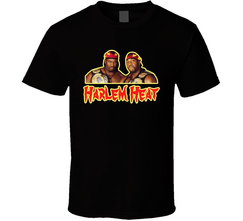 Harlem Heat Booker T Stevie Ray Wrestling Legend T Shirt