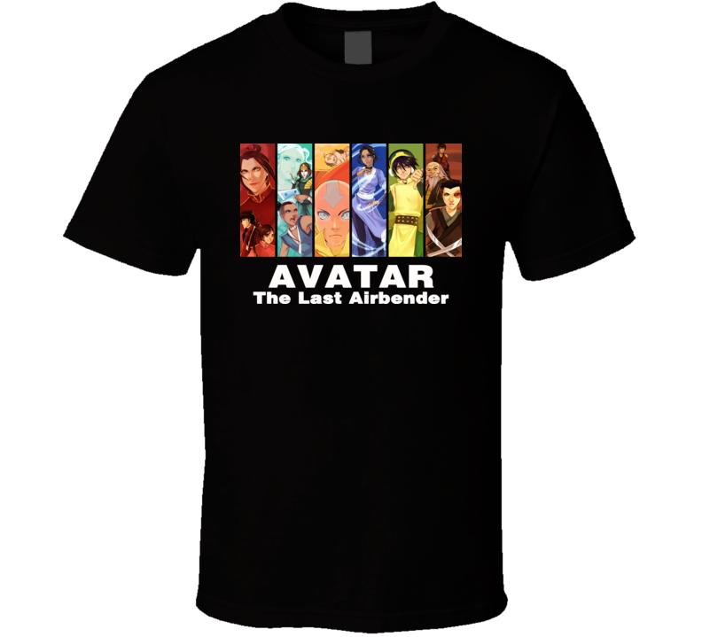 Avatar The Last Airbender Cartoon T Shirt